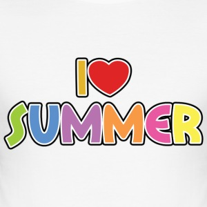 i love summer Tee shirts - Tee shirt près du corps Homme