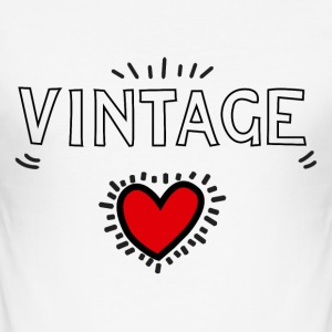 Vintageness 03 T-Shirts - Men's Slim Fit T-Shirt