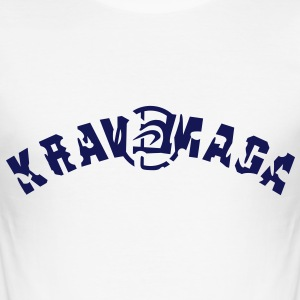 krav_maga_vec_1fr Tee shirts - slim fit T-shirt