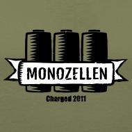 Motiv ~ Monozellen Men's T-Shirt, Braun
