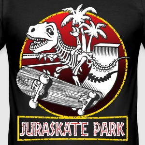 Juraskate park - Men's Slim Fit T-Shirt