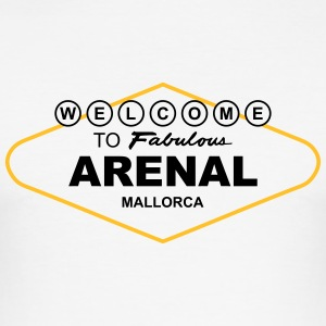 Welcome to Fabulous Arenal Mallorca T-Shirts - Männer Slim Fit T-Shirt