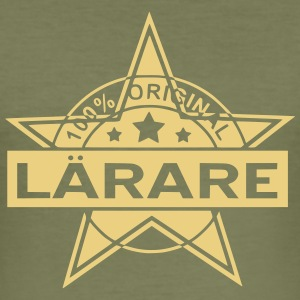 lärare - Slim Fit T-shirt herr