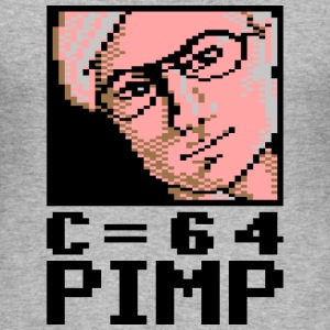 C64 Pimp David - Slim Fit T-skjorte for menn