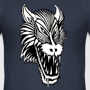 wolfie Tee shirts - Tee shirt près du corps Homme