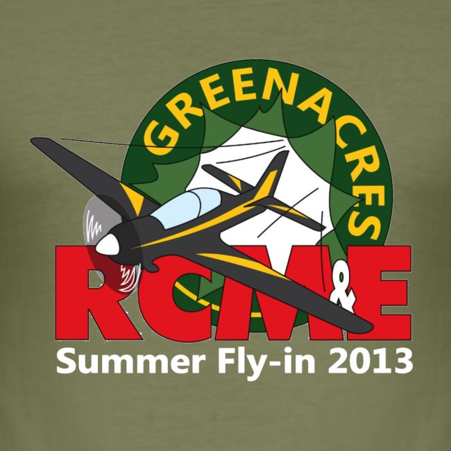Greenacres RCM&E 2013 Fly-in Slim Fit T shirt