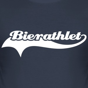 bierathlet T-Shirts - Männer Slim Fit T-Shirt