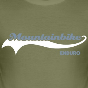 Mountainbike Enduro T-Shirts - Men's Slim Fit T-Shirt