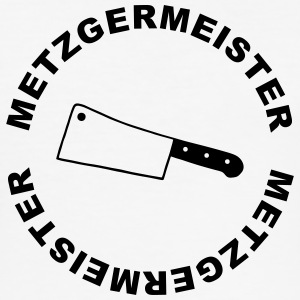 Butcher - Metzgermeister - Slim Fit T-skjorte for menn