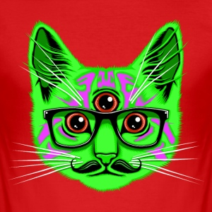 Rood Trip Cat T-shirts - slim fit T-shirt