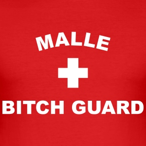 Malle Guard T-Shirts - Männer Slim Fit T-Shirt