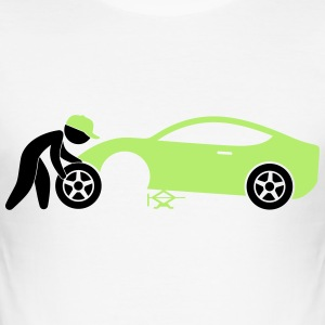 Mechanic (2c)++2013 T-Shirts - Men's Slim Fit T-Shirt