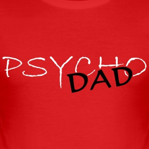 psycho_dad_vec_2 en - Men's Slim Fit T-Shirt