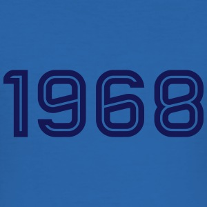 1968 Inline T-Shirts - Men's Slim Fit T-Shirt