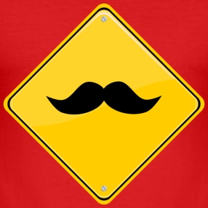 moustache T-Shirts - Männer Slim Fit T-Shirt