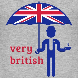 Very British (3C) T-Shirt - Männer Slim Fit T-Shirt