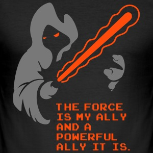 the force is my ally - Männer Slim Fit T-Shirt