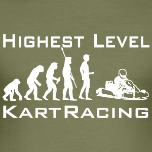 Highest Level Kart Racing! T-Shirts - Männer Slim Fit T-Shirt
