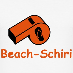 Beach Schiri T-Shirts - Männer Slim Fit T-Shirt