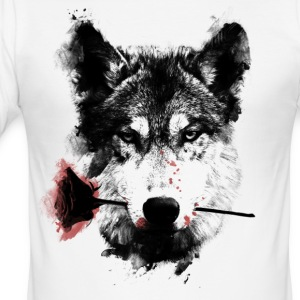 Wolf Lover T-shirts - slim fit T-shirt