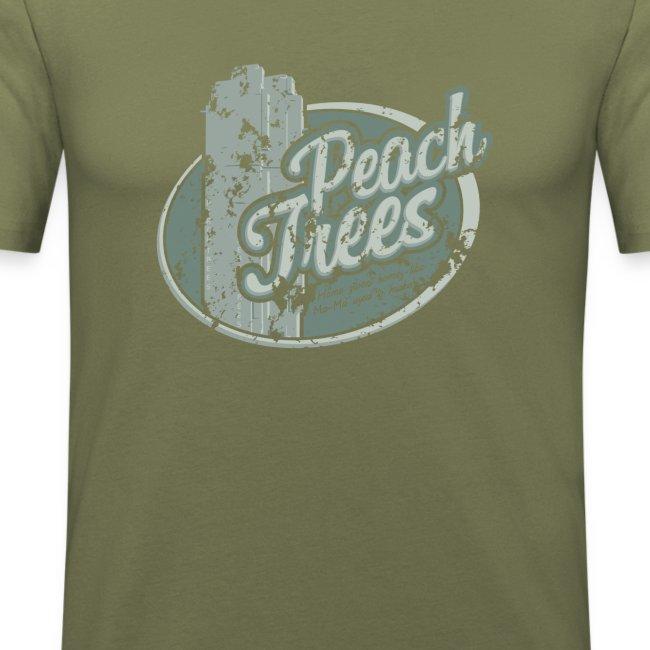 Peach Trees - inspired by Dredd