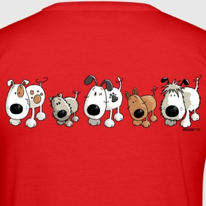 Funny Dogs - Hond - Hondjes - Cartoon T-shirts - slim fit T-shirt
