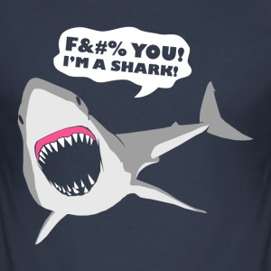 I'm a Shark! T-Shirts - Men's Slim Fit T-Shirt