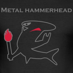 Metal hammerhead black collection T-shirts - Herre Slim Fit T-Shirt