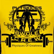 Design ~ Swole Crew Black SHIRT