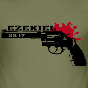 ezekiel 25:17 - Men's Slim Fit T-Shirt
