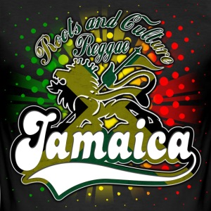 roots and culture reggae jamaica Tee shirts - Tee shirt près du corps Homme