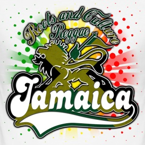 roots and culture reggae jamaica T-Shirts - Men's Slim Fit T-Shirt