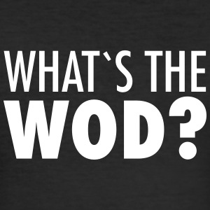 What´s The WOD T-shirts - Slim Fit T-shirt herr