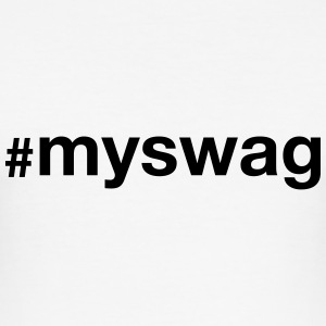 #myswag T-skjorter - Slim Fit T-skjorte for menn