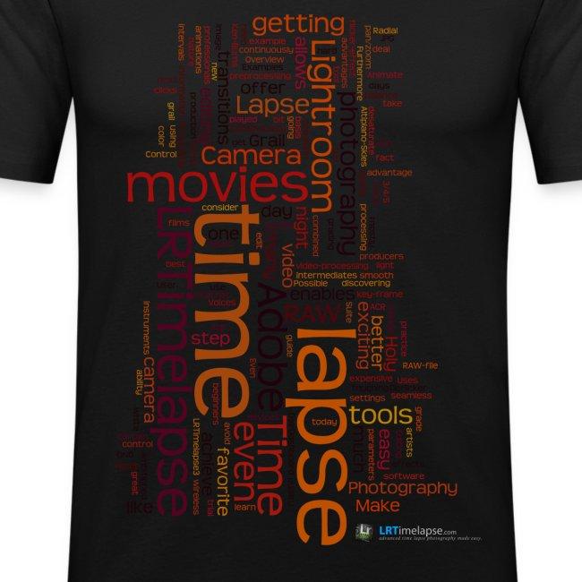 "T-Shirt ""Time Lapse Cloud"" - Rot/Diverse Farben"