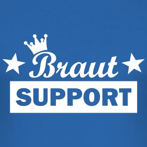 braut support T-Shirts - Männer Slim Fit T-Shirt