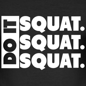 Do It. Squat.Squat.Squat  Tee shirts - Tee shirt près du corps Homme