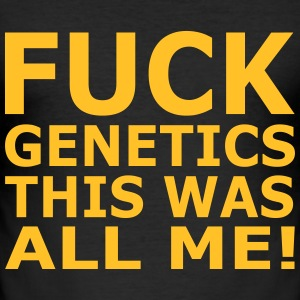 Fuck Genetics T-Shirts - Men's Slim Fit T-Shirt