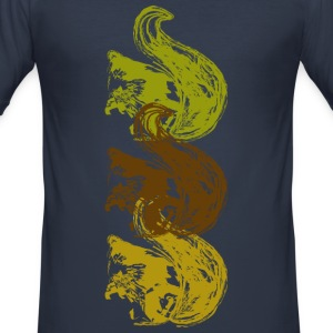 Squirrel T-shirts - slim fit T-shirt