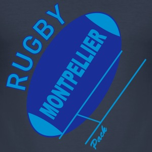 rugby montpellier Tee shirts - Tee shirt près du corps Homme