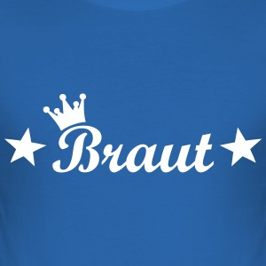 braut T-Shirts - Männer Slim Fit T-Shirt