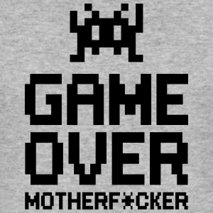 game over motherf*cker T-Shirts - Men's Slim Fit T-Shirt