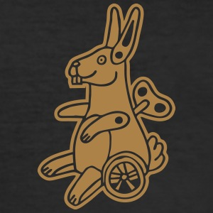 Easter Bunny Osterhase Maschine Machine Horror Ei T-skjorter - Slim Fit T-skjorte for menn