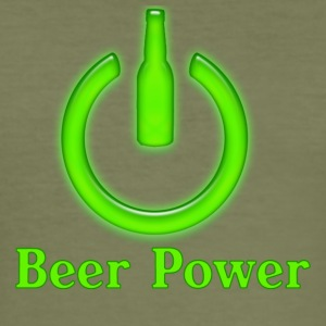 Beer Power - Tee shirt près du corps Homme