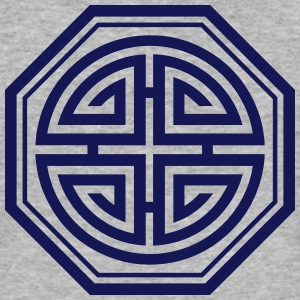 Four blessings, Chinese Good Luck Symbol, Amulet T-shirts - Slim Fit T-shirt herr