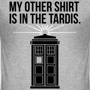 My Other Shirt Is In The Tardis T-Shirts - Männer Slim Fit T-Shirt