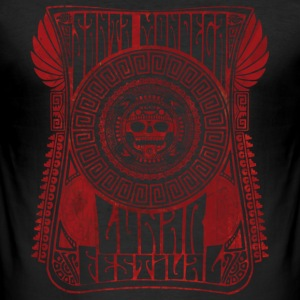 lunarfestivalred T-Shirts - Men's Slim Fit T-Shirt