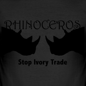 Rhino T-Shirts - Men's Slim Fit T-Shirt