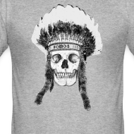 ~ skull indian headdress - czaszka