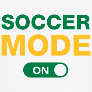Soccer Mode (On) T-shirts - slim fit T-shirt